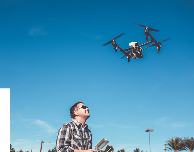 drones photographiques
