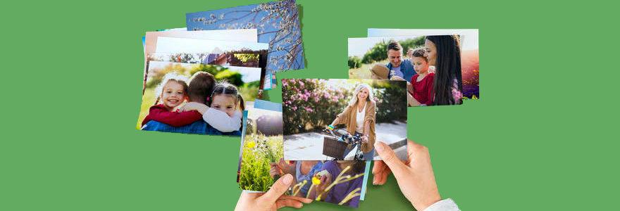 tirages photos sur du papier premium
